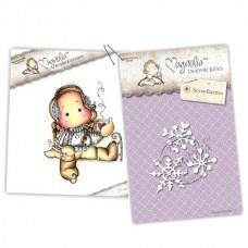 Cocoa Tilda & Snowflurries - Magnolia