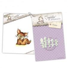 Cozy Fox & Fence - Magnolia