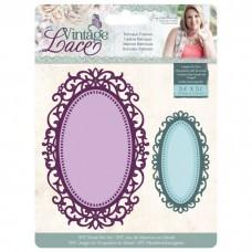 Crafter's Companion Vintage Lace Dies - Baroque Frames