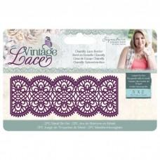 Crafter's Companion Vintage Lace Dies - Chantilly Lace Border