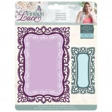Crafter's Companion Vintage Lace Dies - Rococo Frames