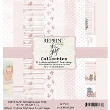 Reprint - It´s a Girl Collection - 12x12 Inch Paper Pack