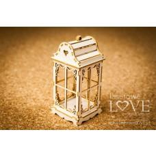 Vintage lantern 3D - Winter Fun - Laserowe LOVE