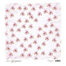 Paper - Dot Roses 12x12 - Magnolia