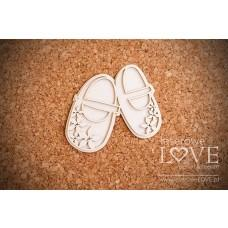 Shoes - Flower - Laserowe LOVE