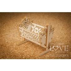Cradle 3D - Flower - Laserowe LOVE