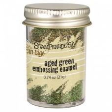 Fran-táge Embossing Enamel - Aged Green