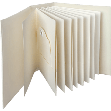 Graphic 45 - ATC Rectangle Tag & Pocket Album - Ivory