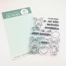 Happy Hoppy 4x6 Bunny - Gerda Steiner