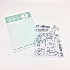 Little Christmas Reindeer 3x4