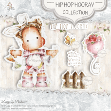 Hip Hop Hooray Art Stamp Sheet - Magnolia