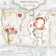 Hippity Hoppity Day Art Stamp Sheet - Magnolia