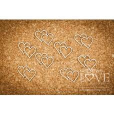 Hearts - First Love - Laserowe LOVE