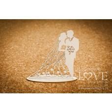 Wedding couple 3D - First Love - Laserowe LOVE