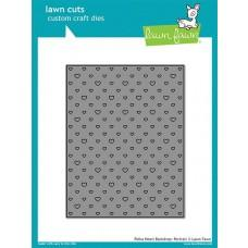 Lawn Cuts - Polka Heart Backdrop: Portrait - Lawn Fawn