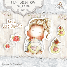 Let's AvoCuddle Art Stamp Kit - Magnolia