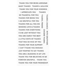 Bitty Thanks & Gratitude - My Favorite Things