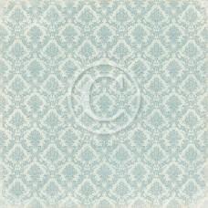Paper - Blue Ornament 12x12 - Vintage Garden
