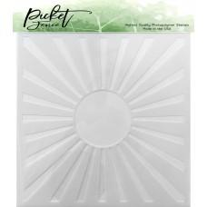 Sunbeam Stencil - Picket Fence Studios