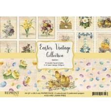 Reprint - Vintage Easter - A4 Paper Pack
