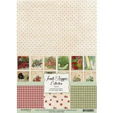 Reprint - Fruits & Veggies Collection - A4 Paper Pack