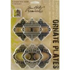 Tim Holtz - Idea-Ology - Ornate Plates