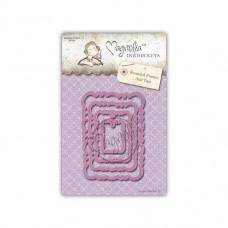 Rounded Frames And Tags - Magnolia