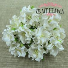 Ivory Gardenia Flowers - 60mm
