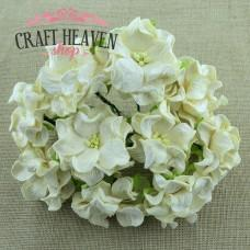 Deep Ivory Gardenia Flowers - 60mm