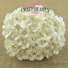 Ivory Sweetheart Blossoms - 15mm