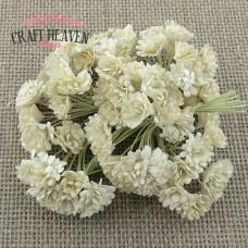 Ivory Mulberry Paper Gypsophila Flowers - 10mm