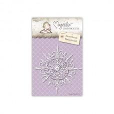 Snowflurrie Background - Magnolia