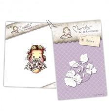 *Pre-order* Spanish Signorina Tilda & Roses - Magnolia