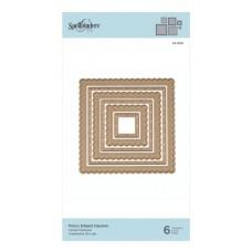 Fancy Edged Squares - Spellbinders