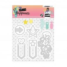 Embossing Die - Create Happiness - Nr.155 - Studio Light