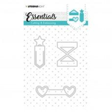 Embossing Die Cut Stencil - Essentials Nr.125 - Studio Light