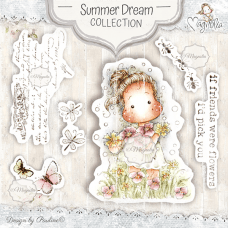 Summer Dream Art Stamp Kit - Magnolia