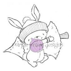 Claus (Bunny with Tree) - Purple Onion Designs