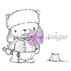 Red (Lumberjack Beaver) - Purple Onion Designs