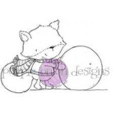 Rupert (Fox with Snowballs) - Purple Onion Designs