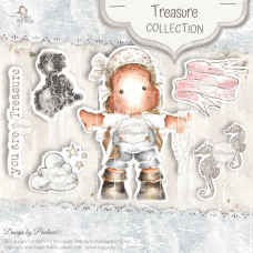 Treasure Art Stamp Sheet - Magnolia