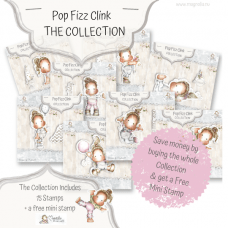 Pop Fizz Clink - Complete Collection (15 stamps) - Magnolia