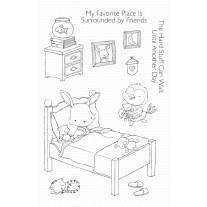 Set štampiljk - All Tucked In - My Favorite Things