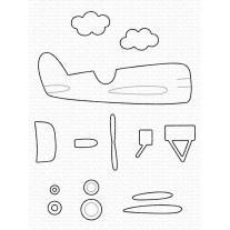 Kovinske šablone - Amazing Airplane Die-namics - My Favorite Things