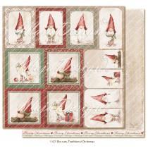 Papir - Die cuts - Traditional Christmas