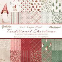 Blok Papirjev Maja Design - Traditional Christmas - 6x6