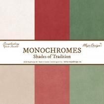 Papir - Monochromes - Shades of Tradition - Celotna Kolekcija