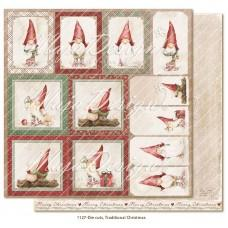Papir - Die cuts - Traditional Christmas