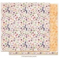 Papir - Colorful - Tropical Garden