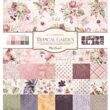 Blok Papirjev Maja Design - Tropical Garden - 12x12